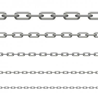 Chain - infinity stock vector