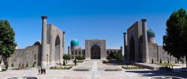 The Famous Registan Plaza of Samarkand, Uzbekistan