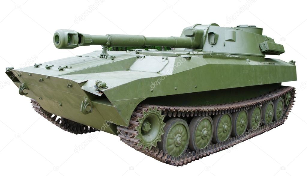 Self-propelled armored artillery howitzer