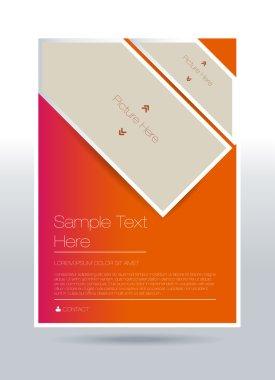 Vector flyer design