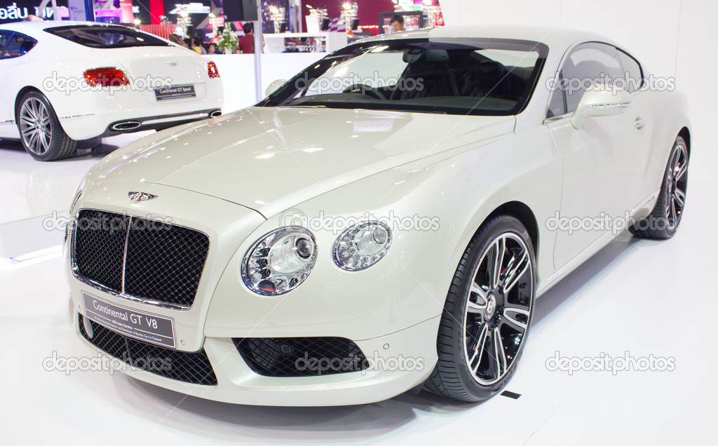 Bently car continental gt v8 model stock editorial photo bangkok march 27 bently car continental gt v8 model on display at the 34th bangkok international motor show 2013 on march 27 2013 in bangkok thailand voltagebd Image collections
