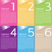 barevný nápis šablona