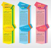 barevné svislé bannery