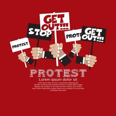 Protest Concept.