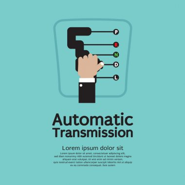 Automatic Transmission Vector Illustration