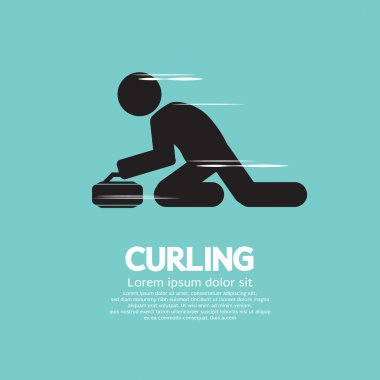 Curling Vector Illustration