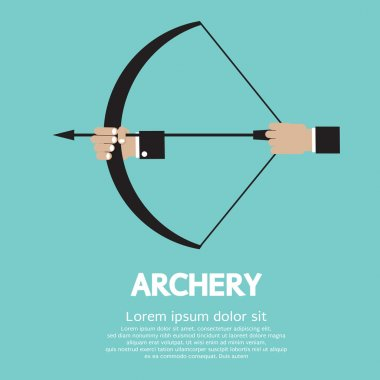 Archery Vector Illustration