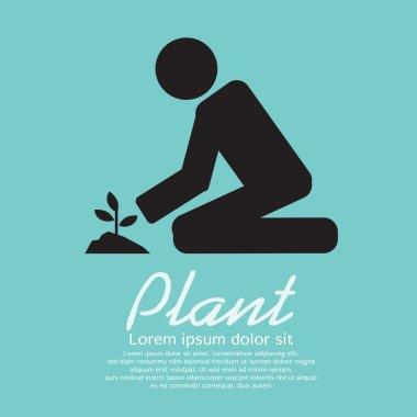 Planting Vector Illustration