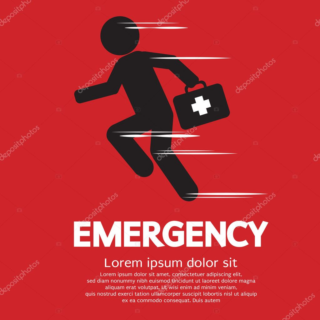Emergency Concept Vector Illustration