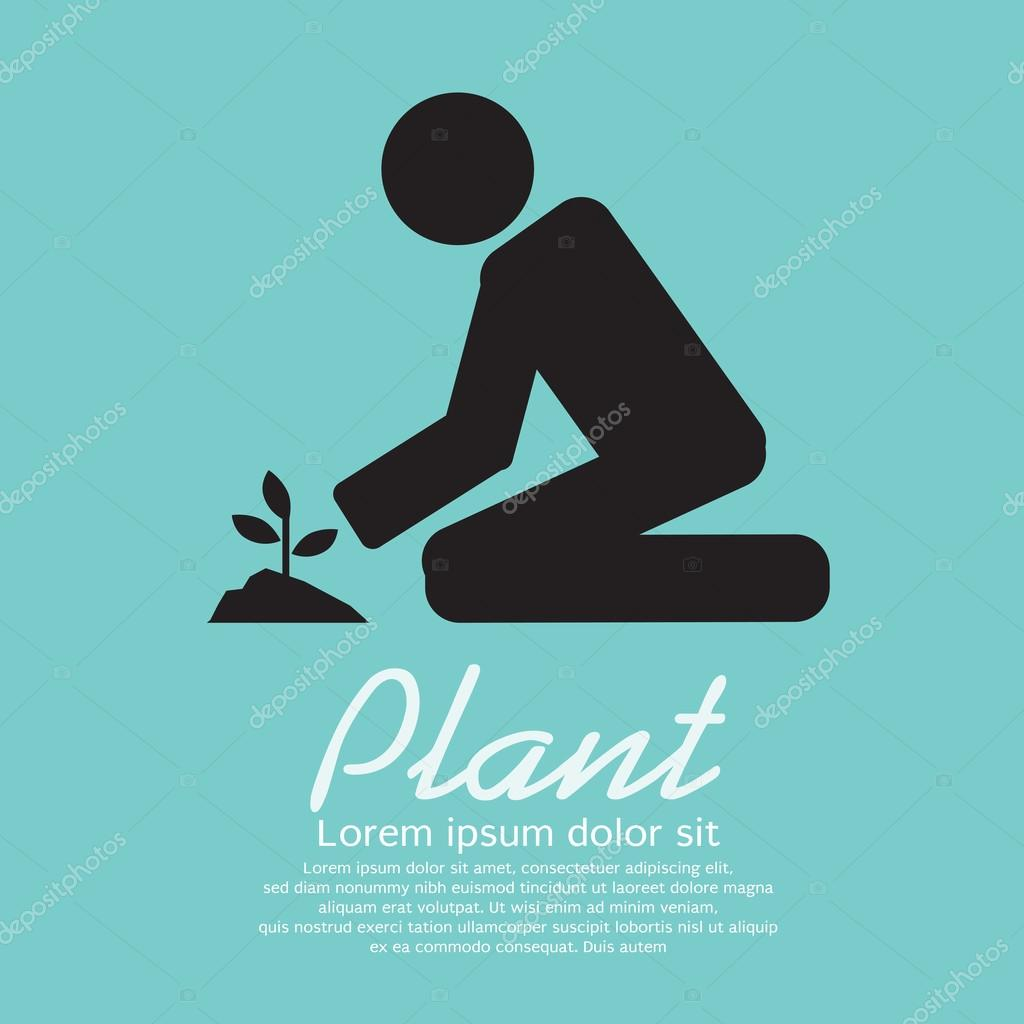 Planting Vector Illustration