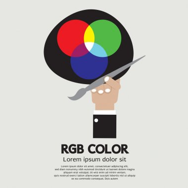 RGB Color Palette Vector Illustration