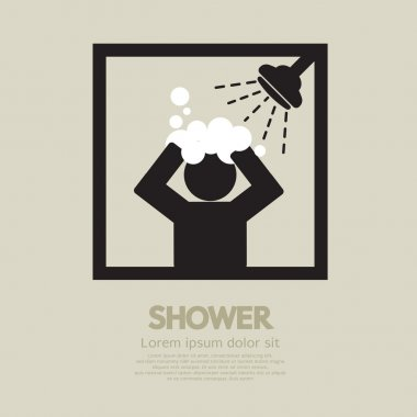 Shower Vector Illustration