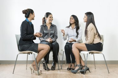 Indian business women having a meeting