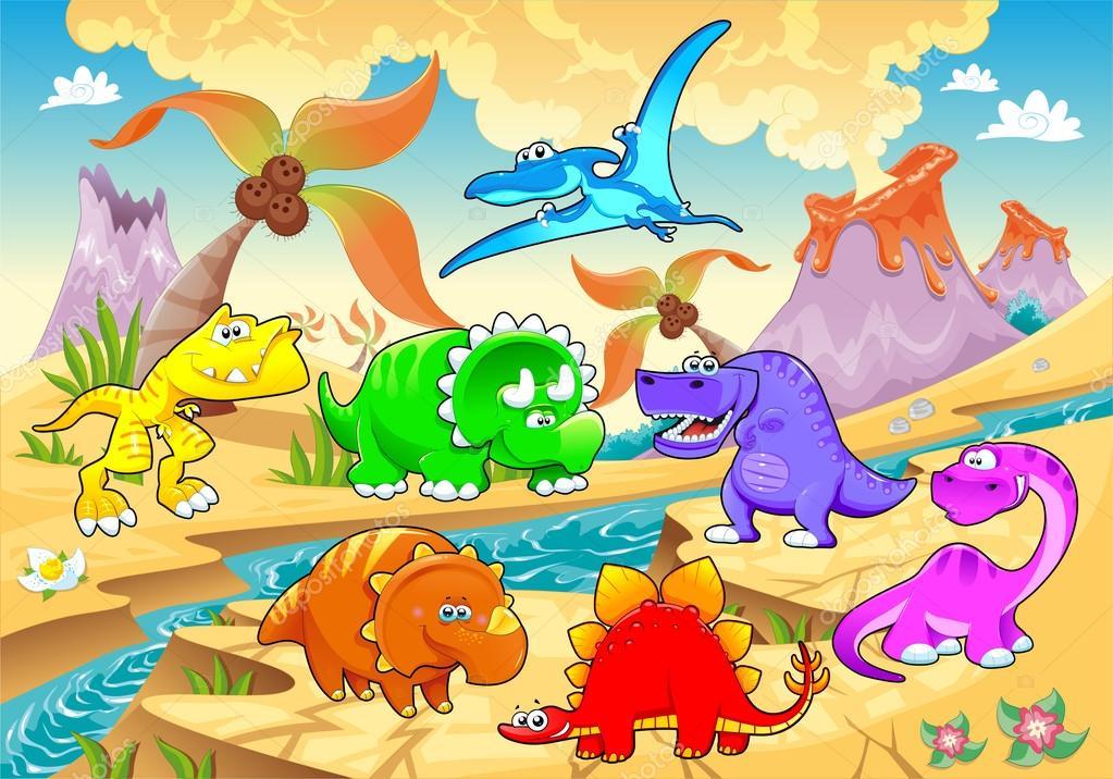 Раскраски Динозавры скачать и распечатать бесплатно