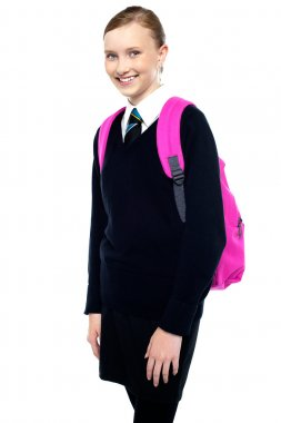 All set to go to school