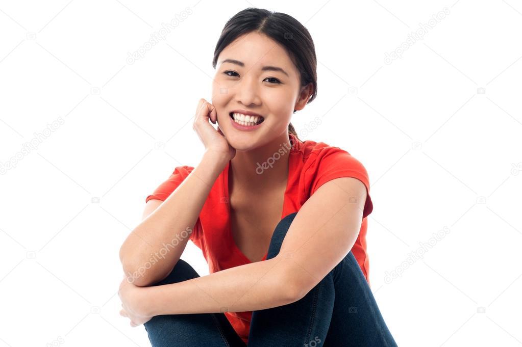 Asian girl finger slim pic 687