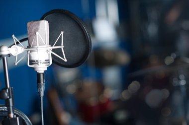 Condenser studio microphone