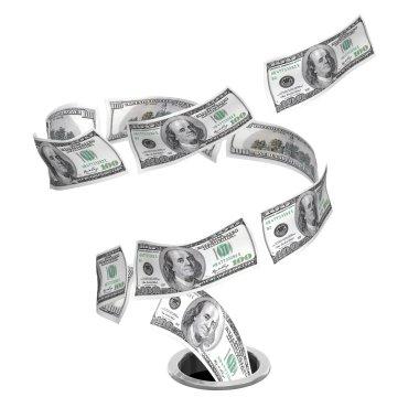 Tornado dollars to drain