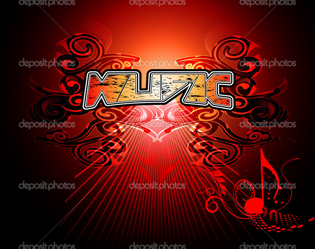 Music Word Stock Vector Nicky2342 28836369