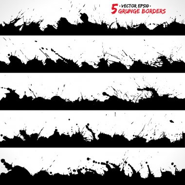 Grunge borders 001
