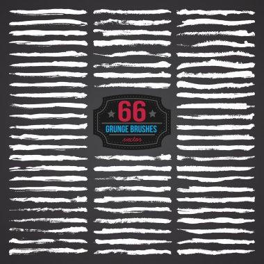 66 GRUNGE BRUSHES SET
