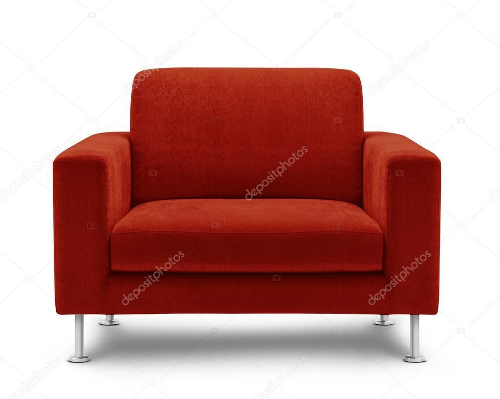 Rotes Sofa Möbel Stockfoto Bluehand 33633773