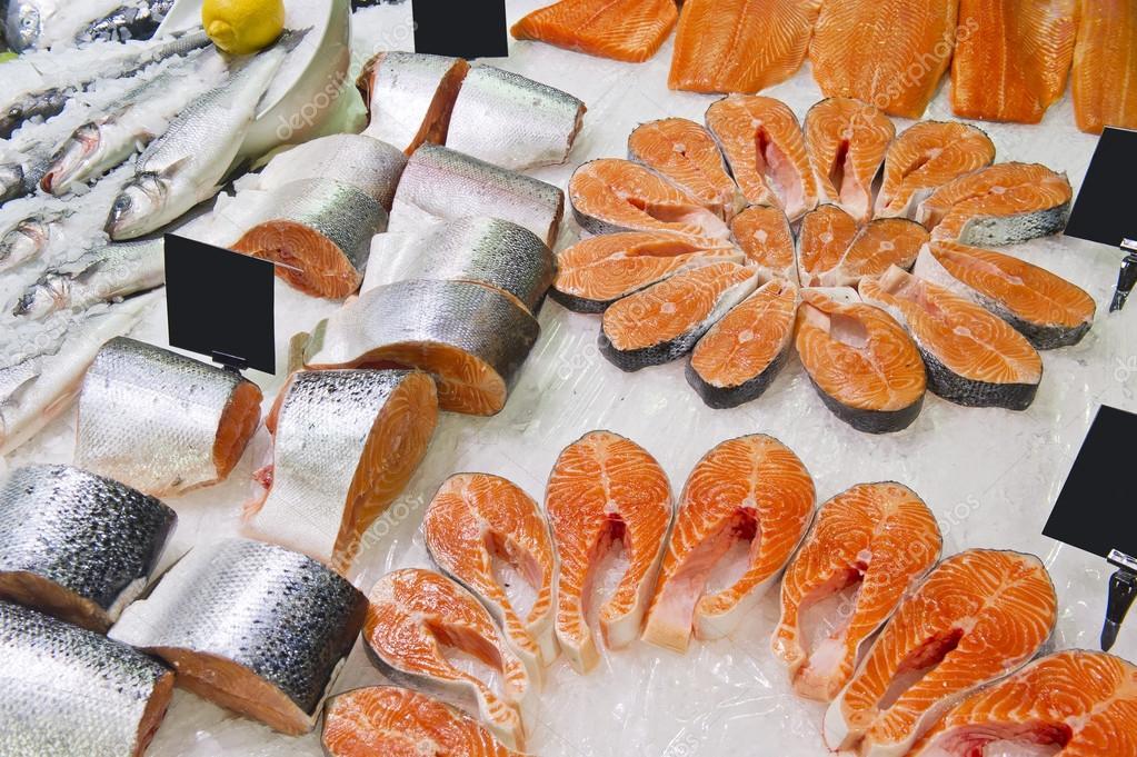 Fresh live fish