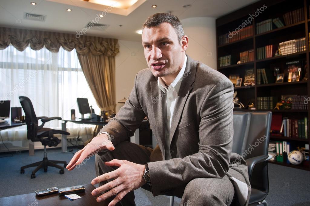 Vitali Klitschko Ukrainian politician