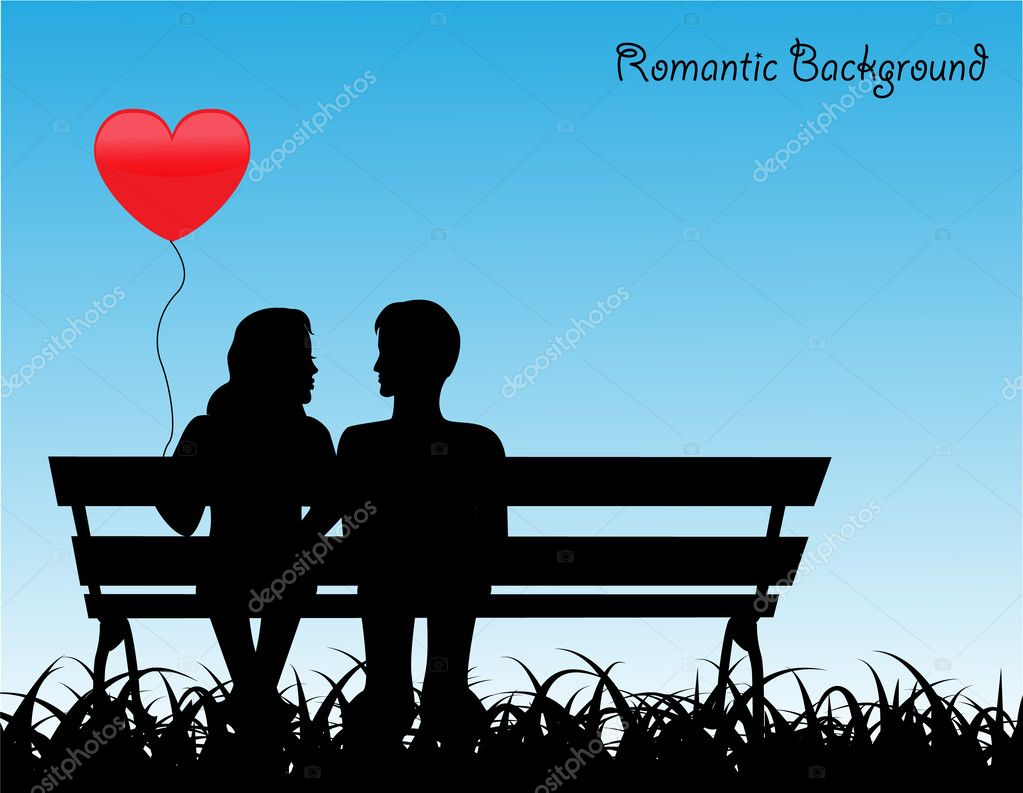 Romantic background