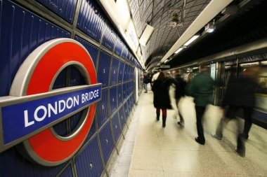 Inside view of London Underground