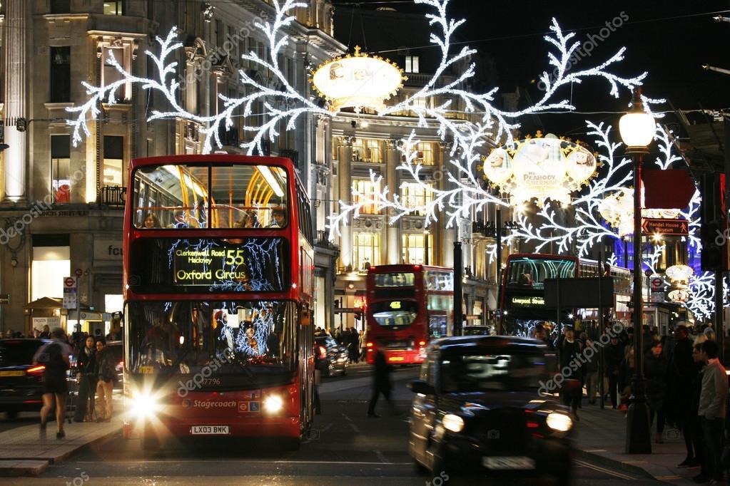 2013, Regent Street with Christmas Decoration