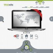 Webové stránky šablona pro firemní prezentace