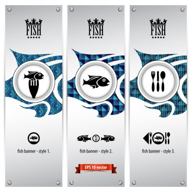 Fish banners