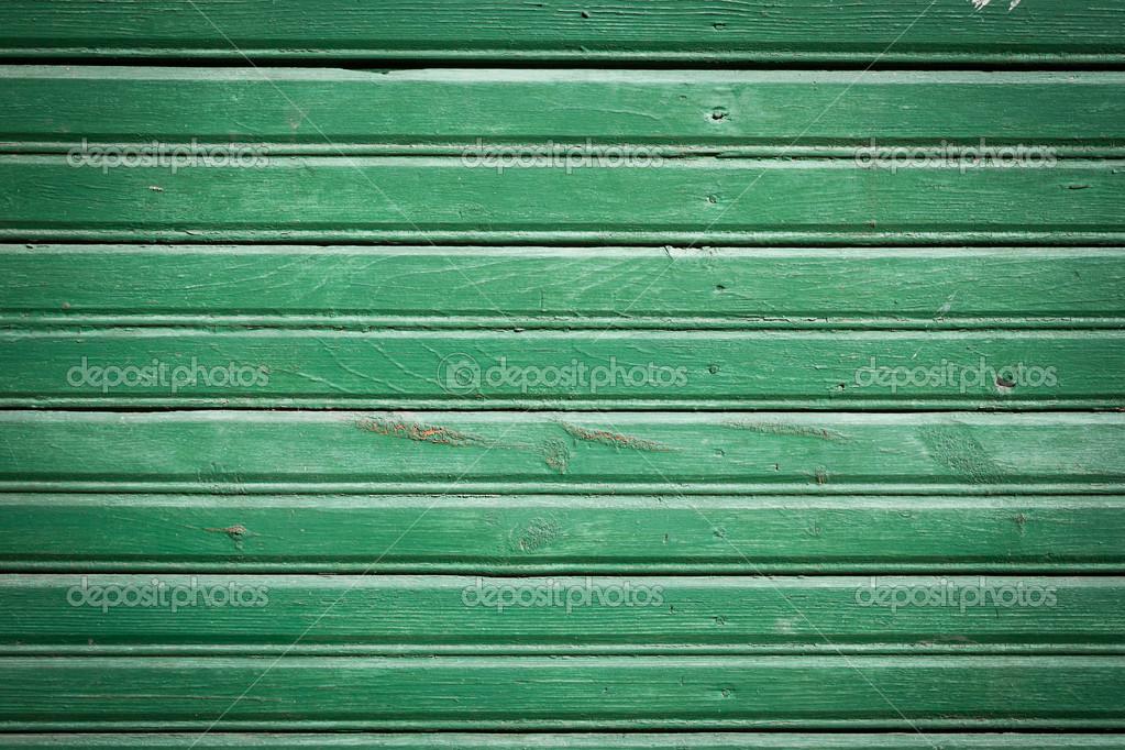 Holzbrett Wand grün streichen — Stockfoto © romantsubin #27754769