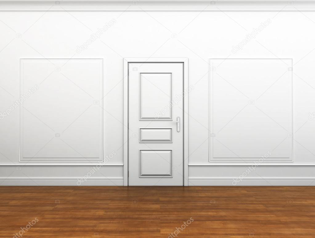 diseño de interiores para grandes pinturas en las paredes — Foto de ...
