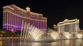 Fotografie vodní show v kasinu bellagio