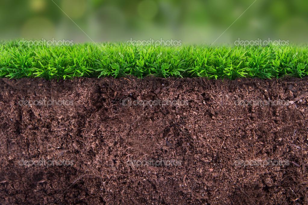 Erde unter gras stockfoto niglaynike 34634295 for Lawn topsoil