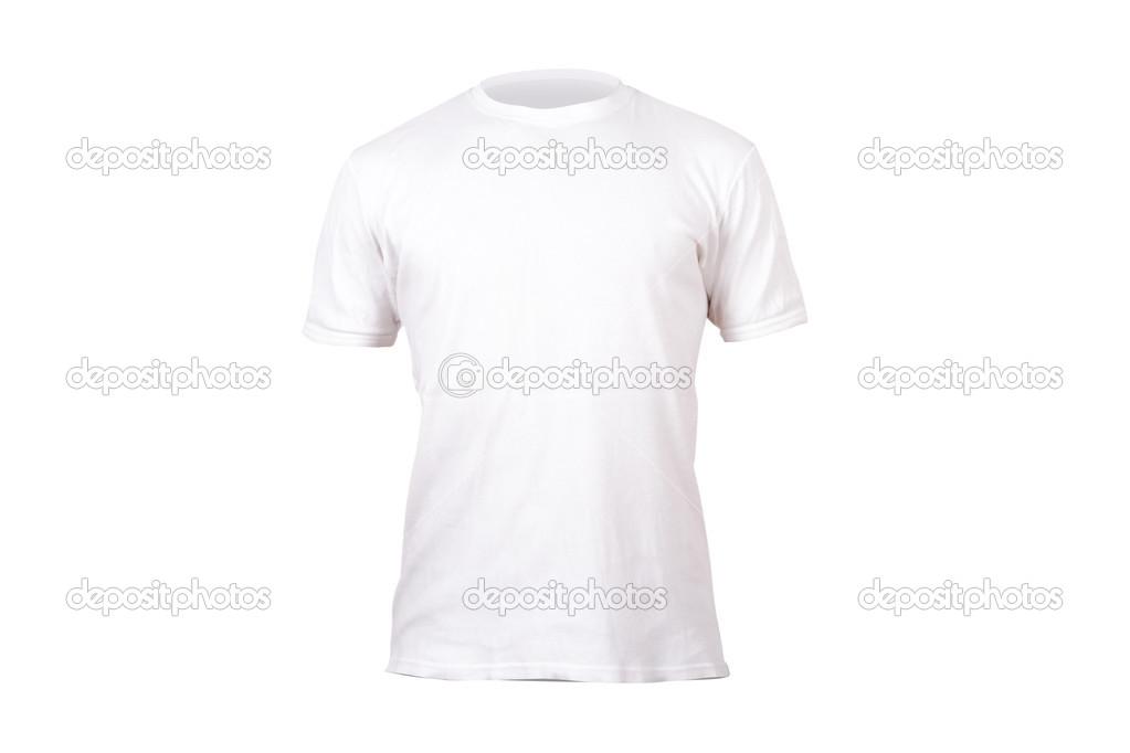 plantilla de camiseta blanca — Foto de stock © niglaynike #45142679