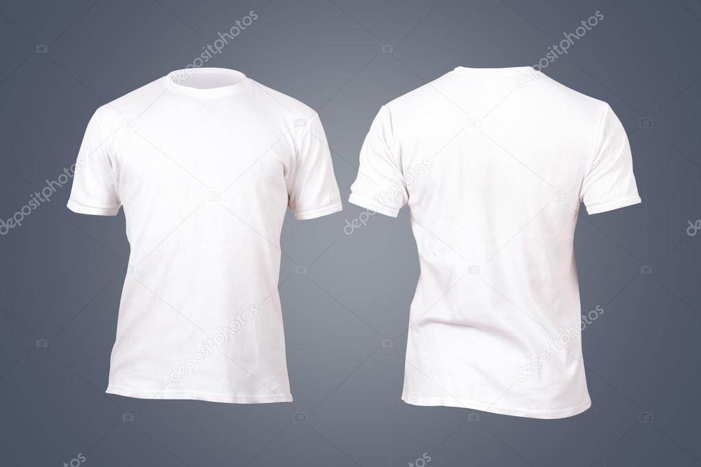 plantilla de camiseta blanca — Fotos de Stock © niglaynike #45142709