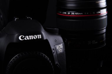 Canon 7D with 24-105mm Lens