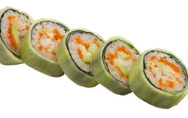 Japanese food, sushi, rolls,