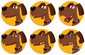 Fotografie Cartoon Hund Emotionen