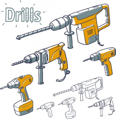 Drills collection.