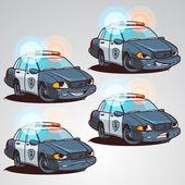 rendőrségi autó