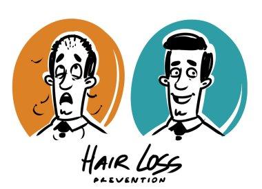Hair loss prevention.