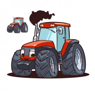 Tractor character