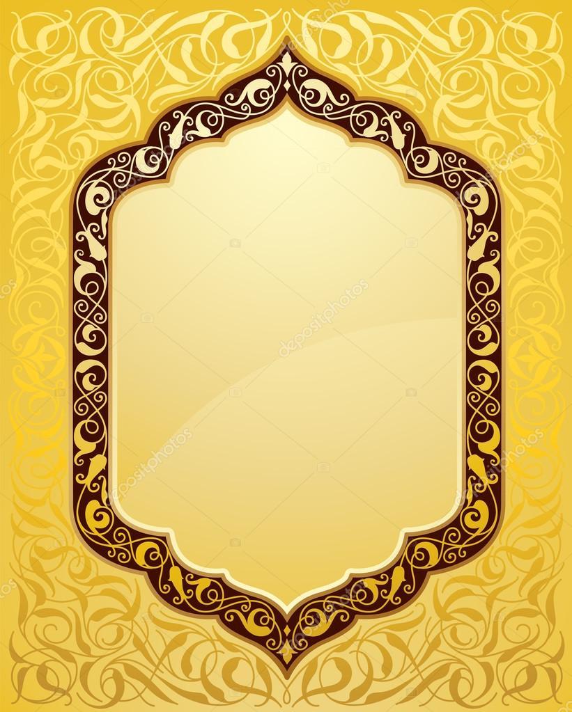 Elegant islamic template design
