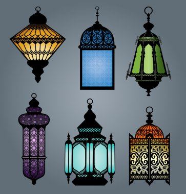 Set of arabic lantern part 1