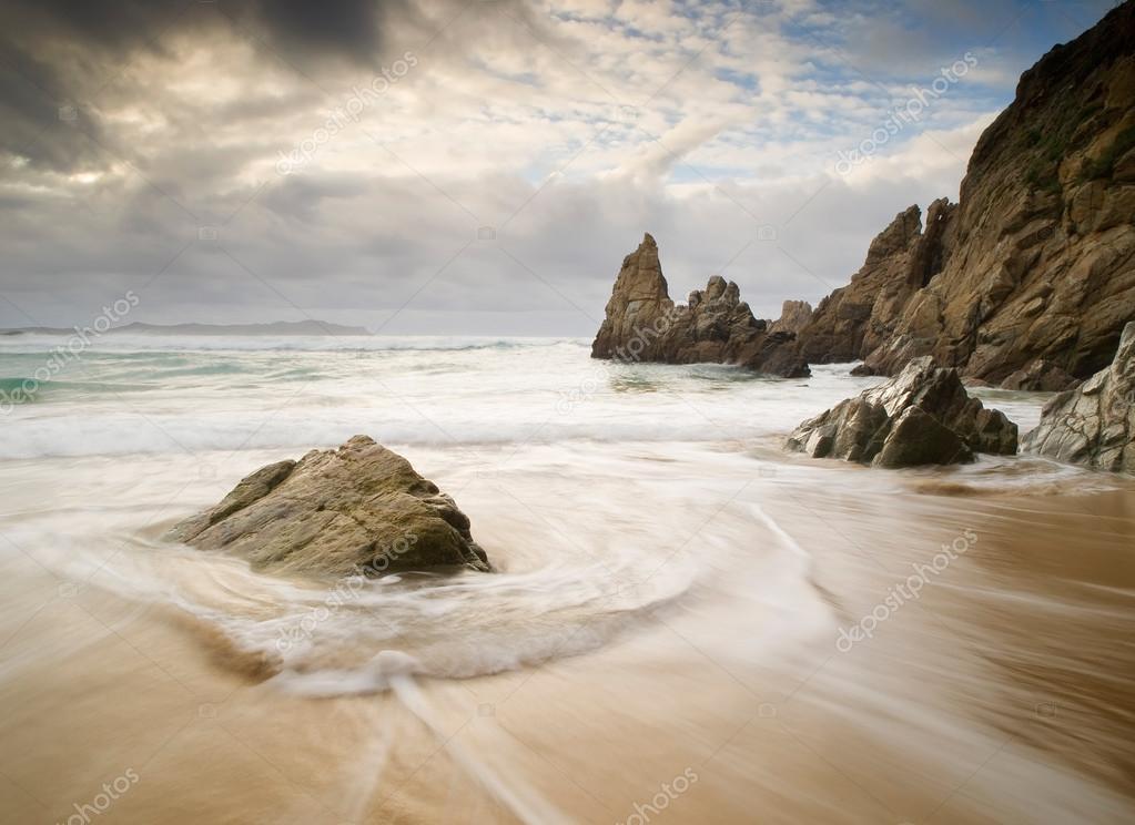Beach in Galicia,
