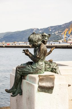 The statues of Sharpshooters in Trieste